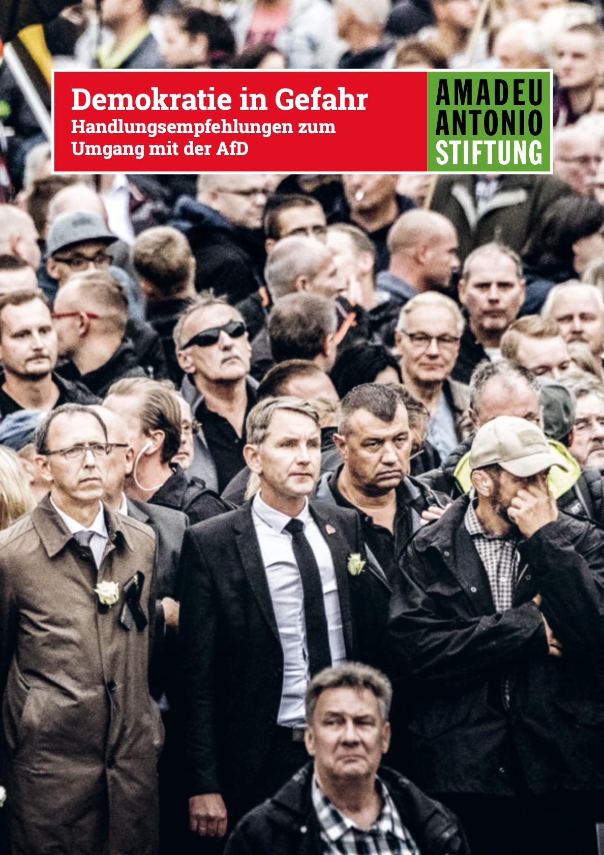 Demokratie in Gefahr – Handlungsempfehlungen zum Umgang mit der AfD